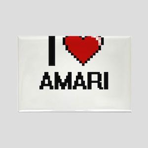 I Love Amari Magnets