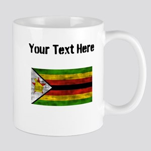 Distressed Zimbabwe Flag (Custom) Mugs