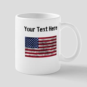 Distressed United States Flag (Custom) Mugs