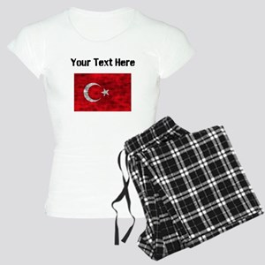 Distressed Turkey Flag (Custom) Pajamas
