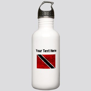 Distressed Trinidad and Tobago Flag (Custom) Water