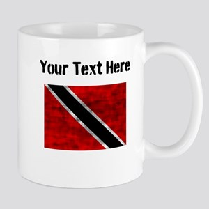 Distressed Trinidad and Tobago Flag (Custom) Mugs