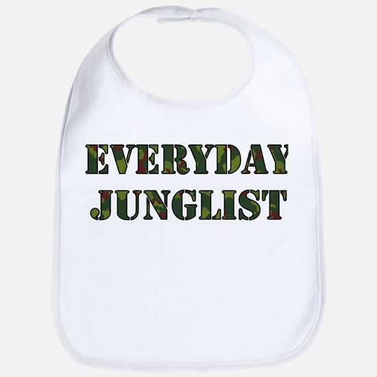 Everyday Junglist (Black Border) Bib