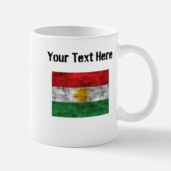 Distressed Kurdistan Flag (Custom) Mugs