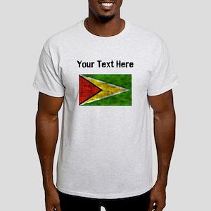 Distressed Guyana Flag (Custom) T-Shirt