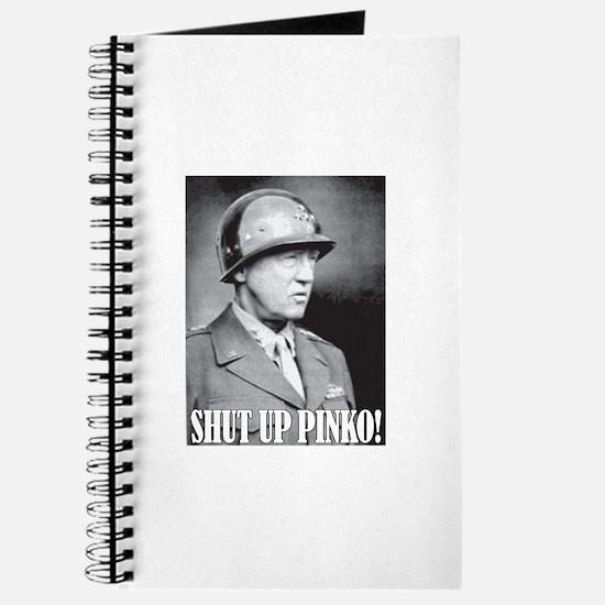 General George S. Patton says, SHUT UP PINKO! Jour
