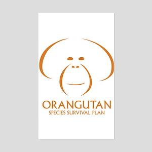 Orangutan Ssp Logo Sticker (orange Logo)