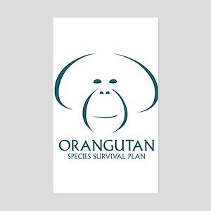 Orangutan Ssp Logo Sticker (teal Logo)