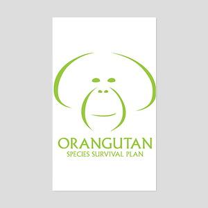 Orangutan Ssp Logo Sticker (green Logo)