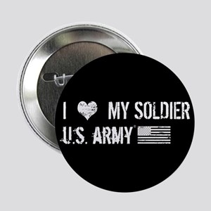 """U.S. Army: I Love My Soldie 2.25"""" Button (10 pack)"""