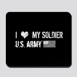 U.S. Army: I Love My Soldier Mousepad