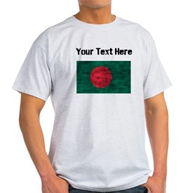 Distressed Bangladesh Flag (Custom) T-Shirt