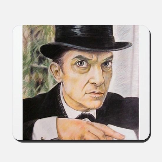 Jeremy Brett as Sherlock Holmes (1) Mousepad