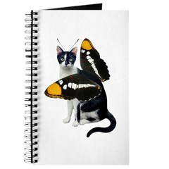 Cat Butterfly Journal