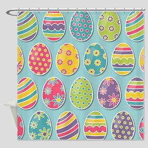 Easter Eggs Shower Curtain