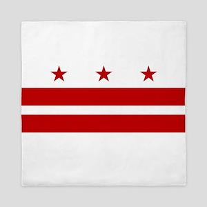 Washington D.C. Flag Queen Duvet