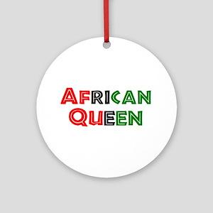 african queen Ornament (Round)