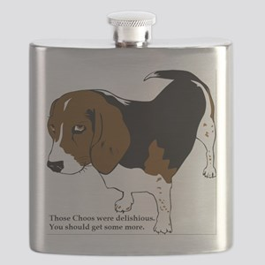 Your Choos Were Delish Flask