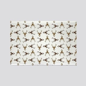 STAG HEADS Rectangle Magnet