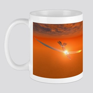 Winged Ship Mug