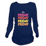 TGIF Long Sleeve Maternity T-Shirt