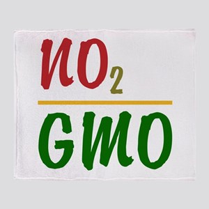No 2 GMO Throw Blanket
