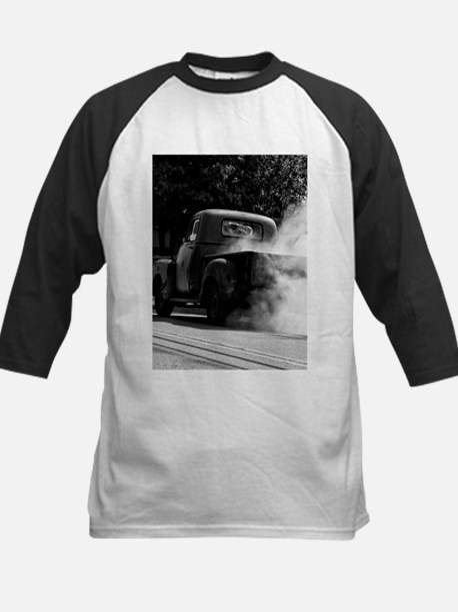 Smokin Truck Kids Baseball Jersey