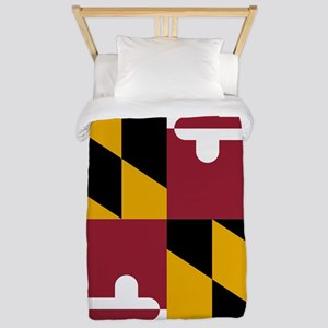 State Flag of Maryland Twin Duvet