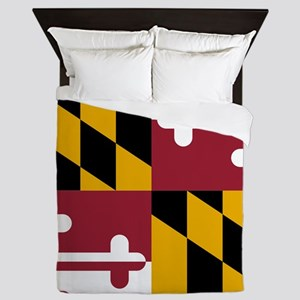 State Flag of Maryland Queen Duvet
