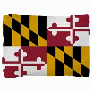 State Flag of Maryland Pillow Sham
