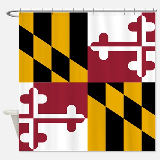 State Flag of Maryland Shower Curtain