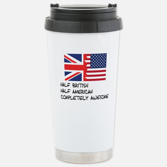 Half British Completely Awesome Mugs