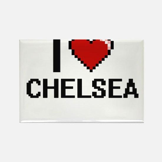 I Love Chelsea Magnets