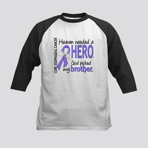 Esophageal Cancer HeavenNeede Kids Baseball Jersey