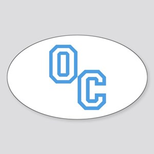 OC Sticker (Oval)