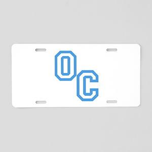 OC Aluminum License Plate