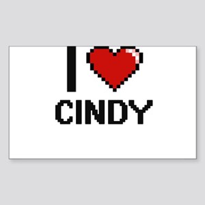 I Love Cindy Sticker