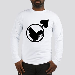 Black Cock Long Sleeve T-Shirt