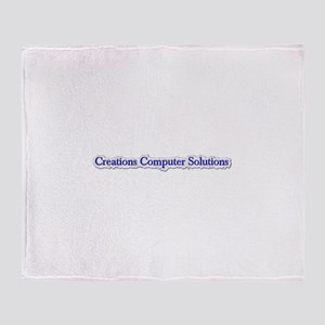 Company Logo Throw Blanket
