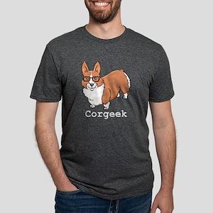 Corgeek White T-Shirt