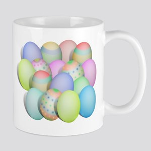 Pastel Colored Easter Eggs Mug