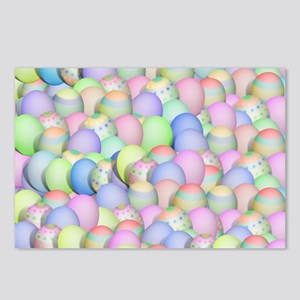 Pastel Colored Easter Egg Postcards (Package of 8)