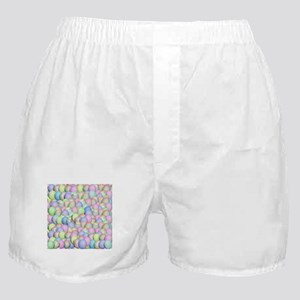 Pastel Colored Easter Eggs Boxer Shorts