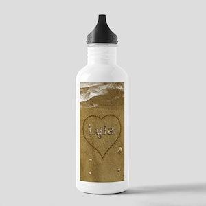 Lyla Beach Love Stainless Water Bottle 1.0L