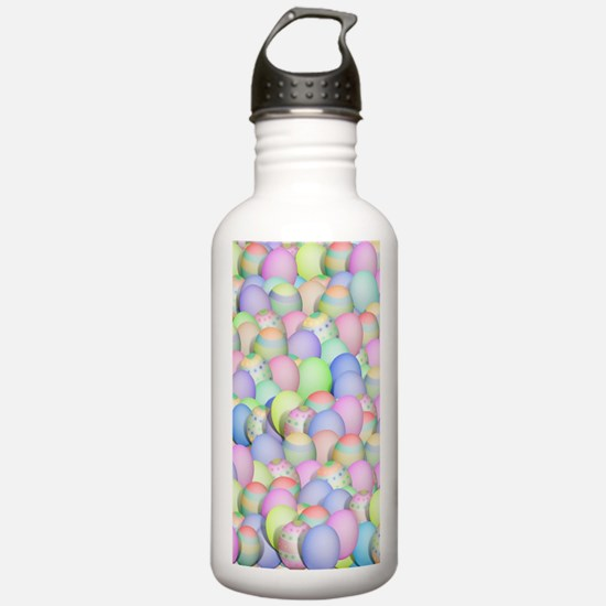 Pastel Colored Easter Sports Water Bottle