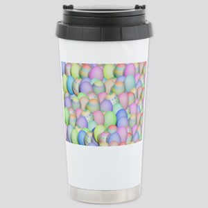 Pastel Colored Easter E Stainless Steel Travel Mug