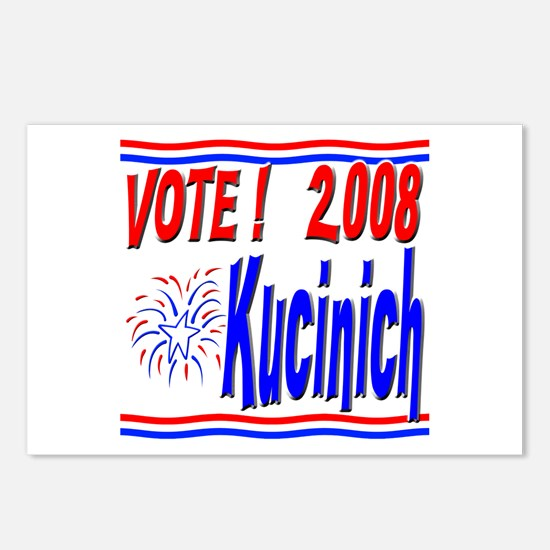 Vote Kucinich Postcards (Package of 8)