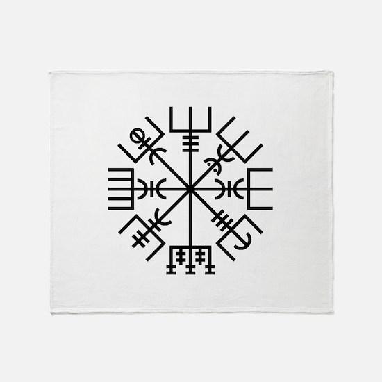 Vegvisir 2 Throw Blanket