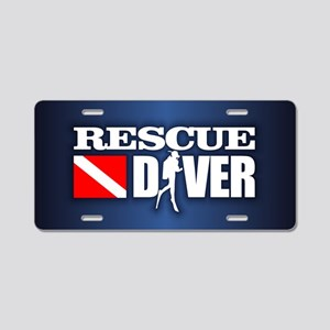Rescue 3 Aluminum License Plate