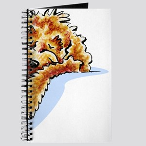 Tan Cockapoo Dream Journal